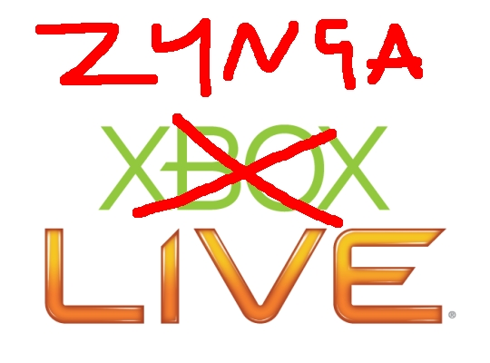 Zynga want to be a gaming network, a lot like Xbox Live